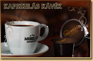 Kapszulás kávé